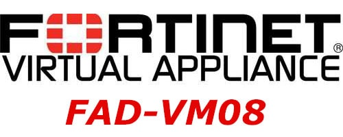 FAD-VM08 Fortinet FortiADC-VM08 Software Virtual Appliance, Supports up to 8x vCPU core