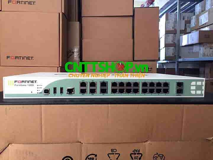 FG-100D Firewall Fortinet FortiGate 100D with 20x GE RJ45 ports | Image 1