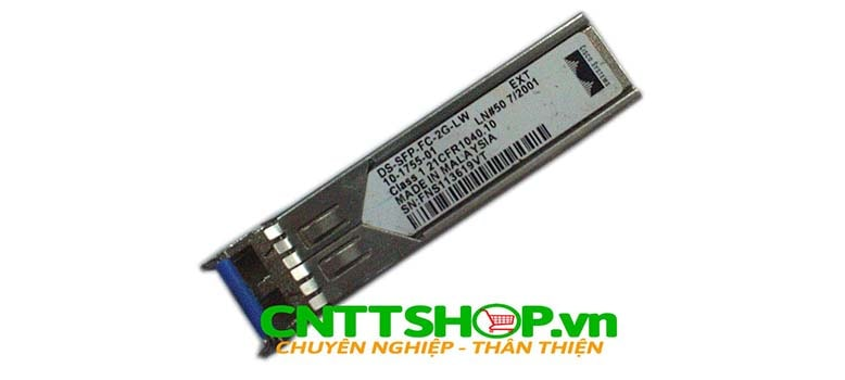 Module quang Cisco DS-SFP-FC-2G-LW LC Duplex Multi Mode 1310nm 10km Transceiver