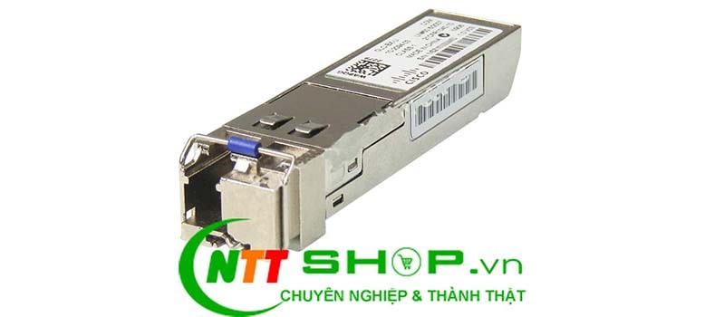 Module quang Cisco GLC-BX40-U-I 1000BASE-BX40 SFP TX 1310nm RX 1550nm 40km Single Mode Transceiver