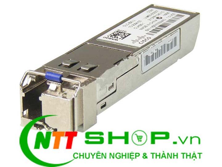 Cisco GLC-BX40-D-I 1GBASE-BX40 SFP 1550nm Single LC 40KM | Image 1