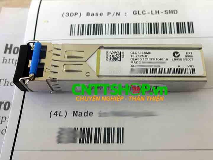 Cisco SFP GLC-LH-SMD 1000BASE-LX/LH  SMF 1310nm DOM 10KM | Image 1