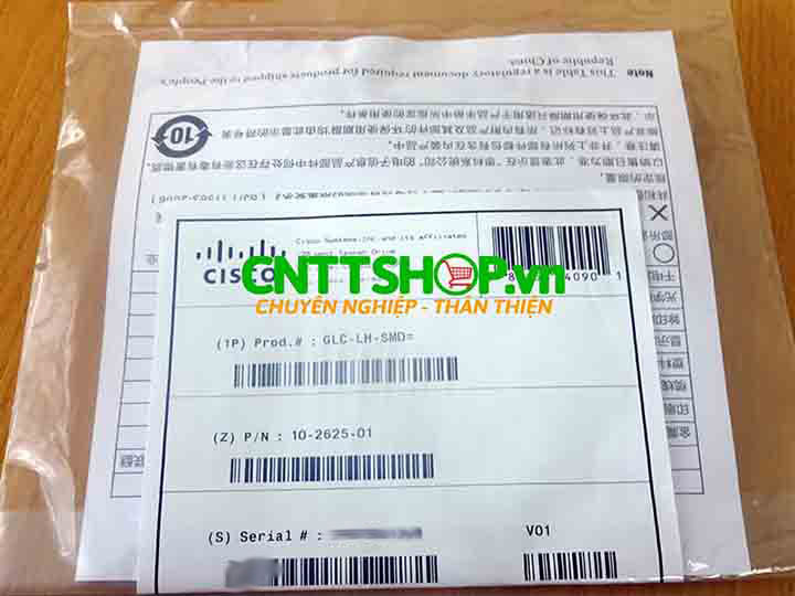 Cisco SFP GLC-LH-SMD 1000BASE-LX/LH  SMF 1310nm DOM 10KM | Image 4