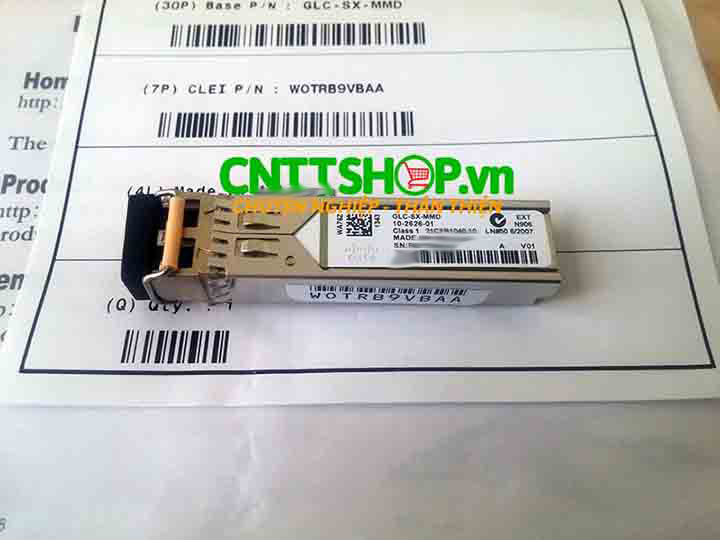 Cisco GLC-SX-MMD SFP transceiver MMF 850-nm, DOM, 500m | Image 1