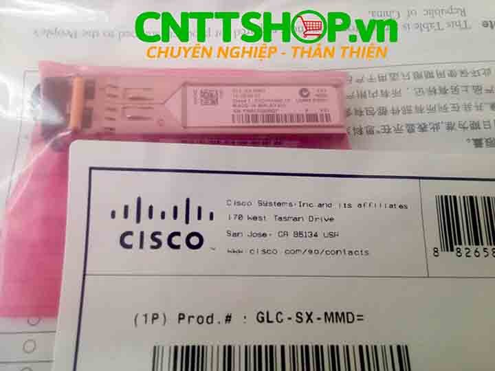 Cisco GLC-SX-MMD SFP transceiver MMF 850-nm, DOM, 500m | Image 2
