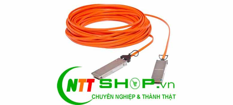 Cable DAC Cisco QSFP-H40G-AOC20M 40GBase-AOC QSFP direct-attach Active Optical Cable 20-meter