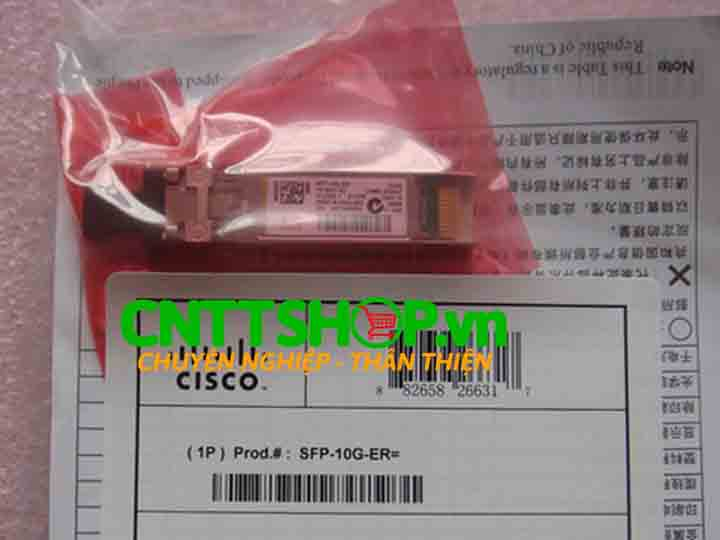 Module quang Cisco SFP-10G-ER for SMF 1550-nm dual LC 40km | Image 1