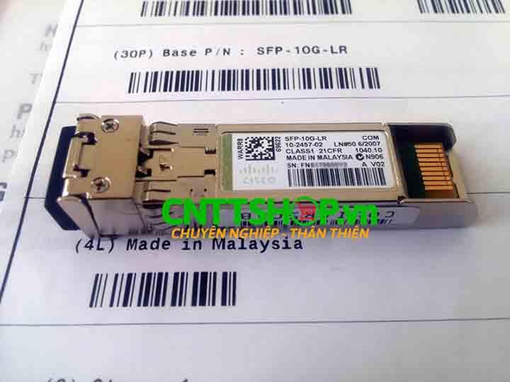 Cisco SFP-10G-LR SFP+ SMF 1310 nm LC duplex 10km | Image 6