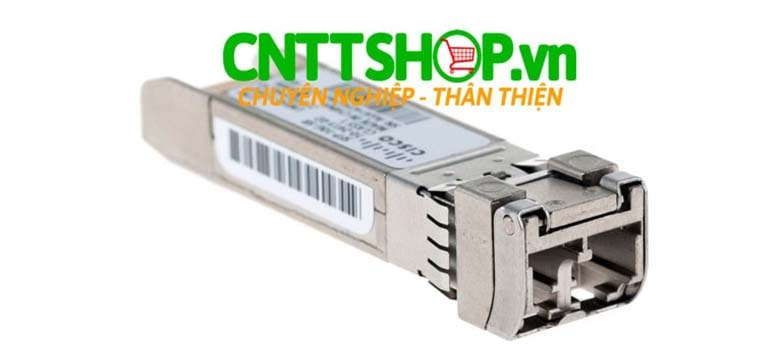 Module quang Cisco SFP-10G-ZR-S SFP+ for SMF, 1550-nm, LC duplex, 80km