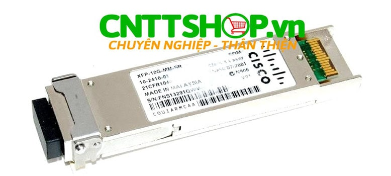 Module quang Cisco XFP-10G-MM-SR 10GBASE-SR 850nm 300m