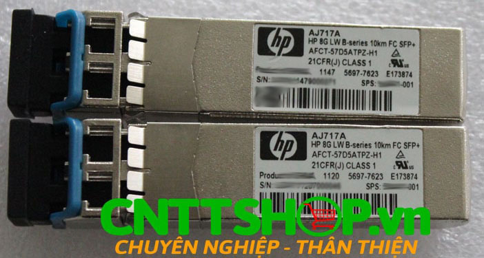 HPE AJ717A 8Gb Long Wave B-series 10km GC 1 Pack SFP+ Transceiver