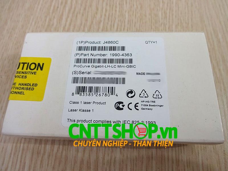 J4860C HPE 1990-4363 X121 1G SFP LC LH 1550nm 70km SMF Transceiver | Image 2