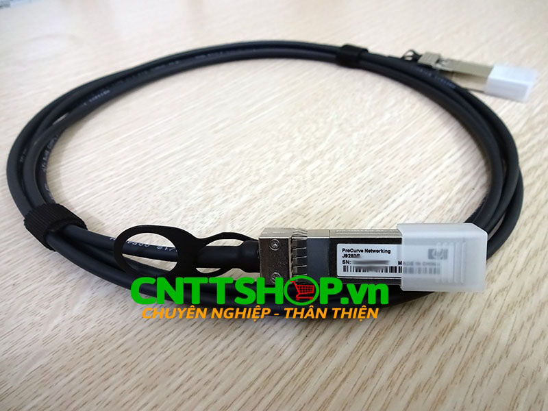 J9283B HPE X240 10G SFP+ to SFP+ 3m Direct Attach Copper Cable