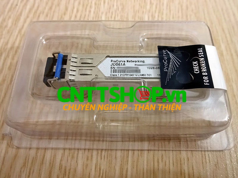 JD061A HPE 1028-0834 X125 1G SFP LC LH40 1310nm 40km Transceiver | Image 4