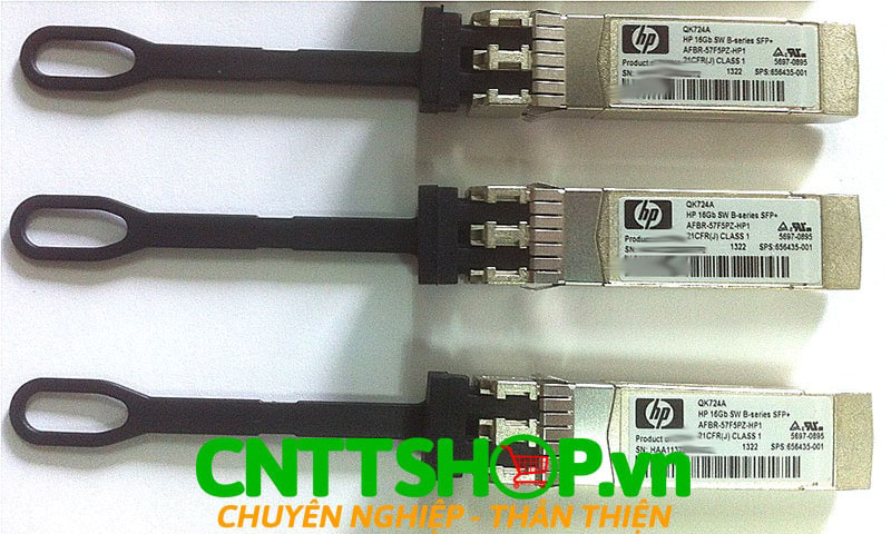 Module quang HPE QK724A B-series 16Gb SFP+ Short Wave Optic Transceiver