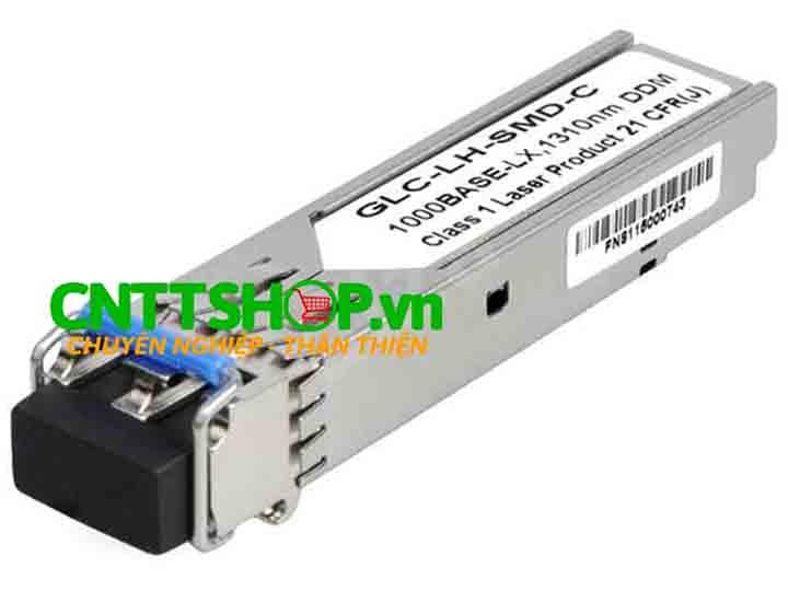 Module quang Cisco GLC-LH-SM--OEM SFP 1000BASE-LH, SMF, 1310nm, 10K