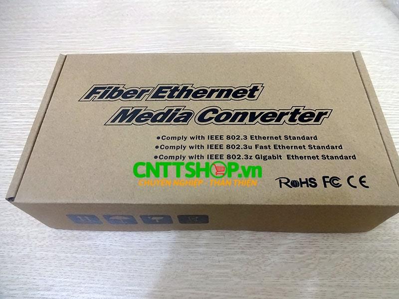 PRO-120S-20 Media converter 10/100M Double Fiber , SM , Exernal Power. 20KM   Image 6