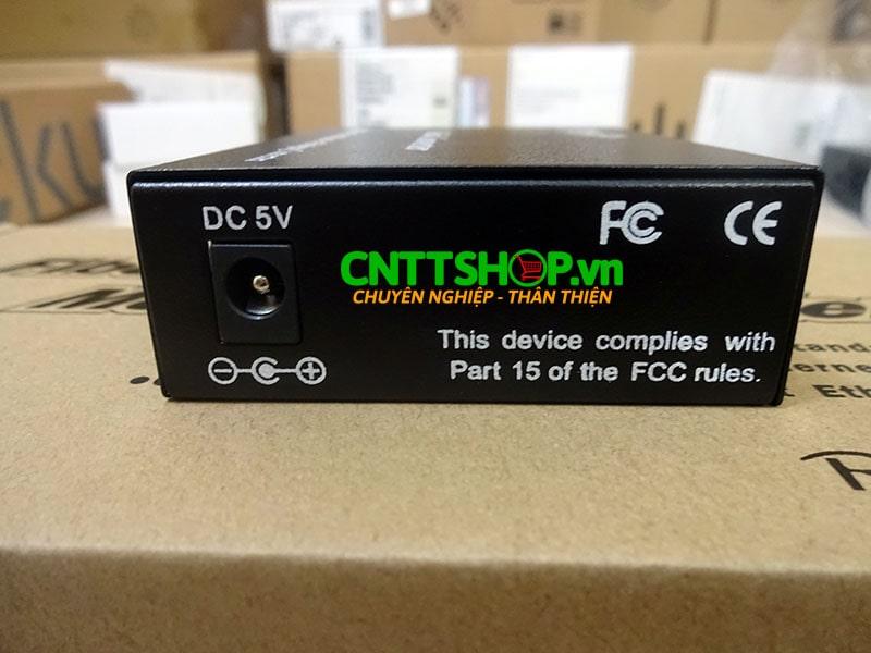 PRO-120S-20 Media converter 10/100M Double Fiber , SM , Exernal Power. 20KM   Image 2