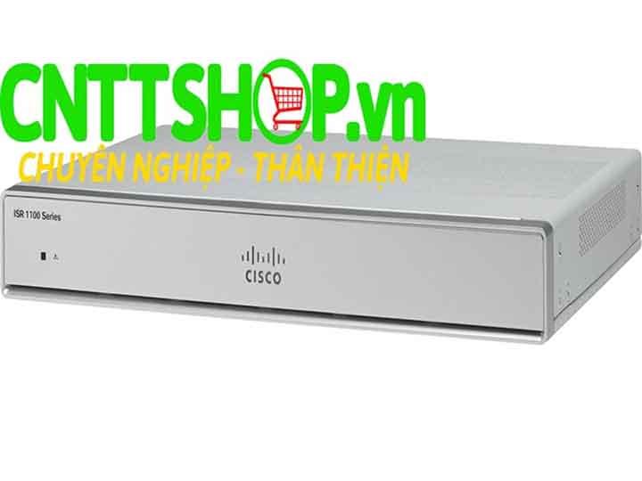 Cisco ISR C1111-4P 4-Port Dual GE WAN Ethernet Router - CNTTShop