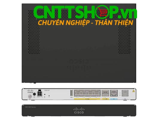 Cisco C927-4PM ISR 927 Security Router with VDSL/ADSL2+ Annex M, IP Base