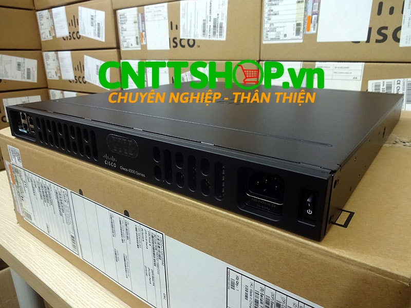 ISR4331/K9 Router Cisco 3 GE, 2 NIM, 1 SM, 4 GB FLASH, 4 GB DRAM | Image 8