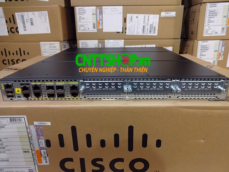Router Cisco ISR4431/K9 ISR 4431 (4 GE, 3 NIM, 8 GB FLASH, 2 GB DRAM