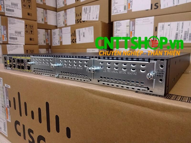 ISR4431/K9 Router Cisco 4 GE 3 NIM 8 GB FLASH 2 GB DRAM 4 GB DRAM | Image 3