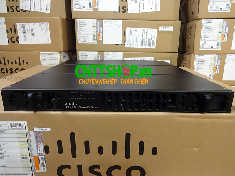 ISR4431/K9 Router Cisco 4 GE 3 NIM 8 GB FLASH 2 GB DRAM 4 GB DRAM | Image 2