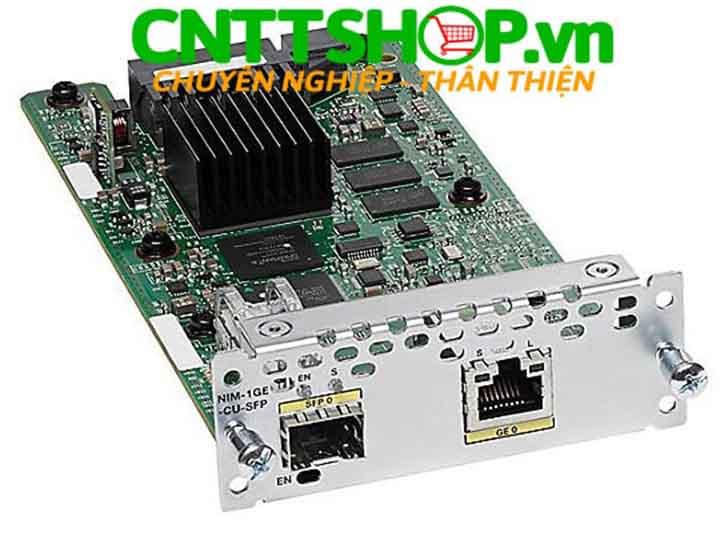 NIM-1GE-CU-SFP Cisco 1 Port GE/SFP Network Interface Module | Image 1