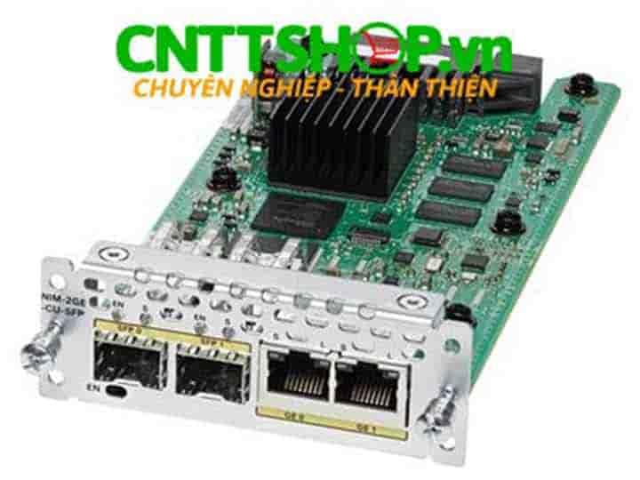 NIM-2GE-CU-SFP Cisco 2 Port GE/SFP Network Interface Module | Image 1