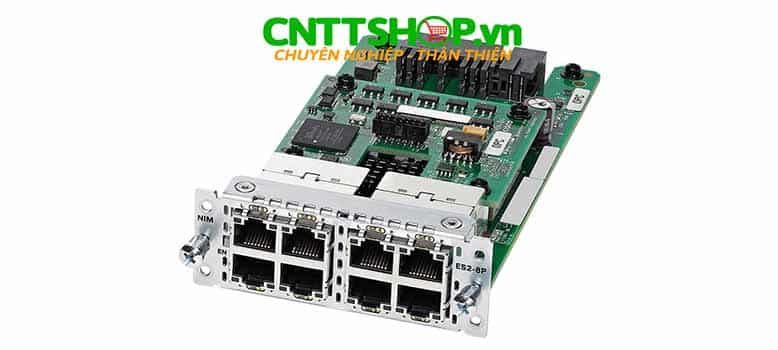 NIM-ES2-8-P Router Cisco 8 Port GE PoE/PoE+ Layer 2 LAN Switch NIM Module