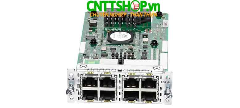 NIM-ES2-8 Router Cisco 8 Port GE Layer 2 LAN Switch NIM Module