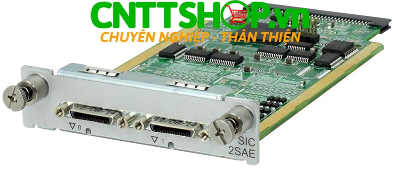 HPE JG736A MSR 2-port Enhanced Sync/Async Serial SIC Module