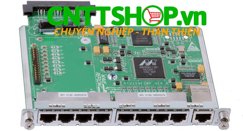 HPE JD574B MSR 9-port 10/100Base-T Switch DSIC Module