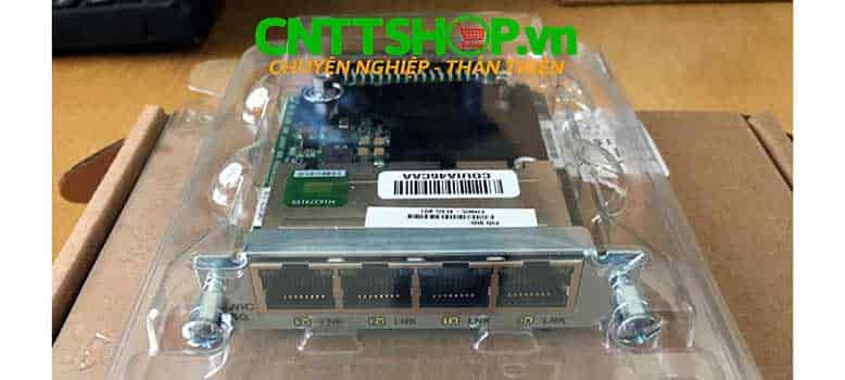 EHWIC-4ESG 4 Ports Cisco Gigabit EtherSwitch 10/100/1000BASE-TX Autosensing EHWIC
