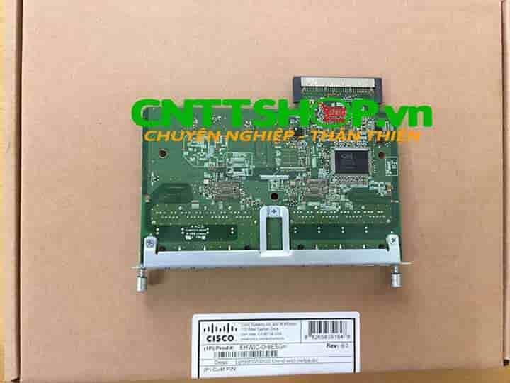 EHWIC-D-8ESG Cisco 8 Port 10/100/1000BASE-TX Autosensing | Image 4