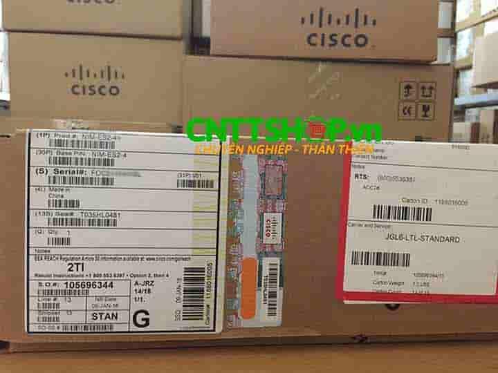 NIM-ES2-4 Router Cisco 4 Port GE Layer 2 LAN Switch NIM Module   Image 4