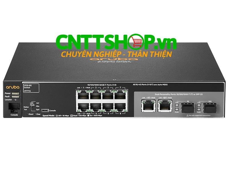 J9777A Switch Aruba 2530 8 Ports 10/100/1000, 2 GE Uplink | Image 1