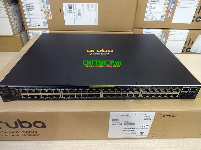 J9778A Switch Aruba 2530 48 Ports 10/100 PoE+ 382W, 4 Uplink Ports | Image 1