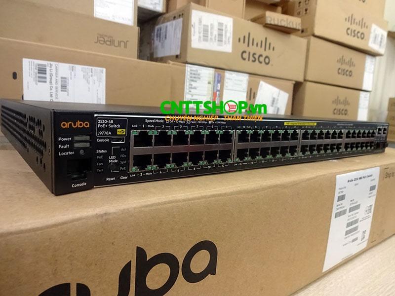 J9778A Switch Aruba 2530 48 Ports 10/100 PoE+ 382W, 4 Uplink Ports | Image 2