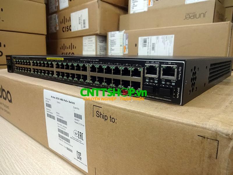J9778A Switch Aruba 2530 48 Ports 10/100 PoE+ 382W, 4 Uplink Ports | Image 3