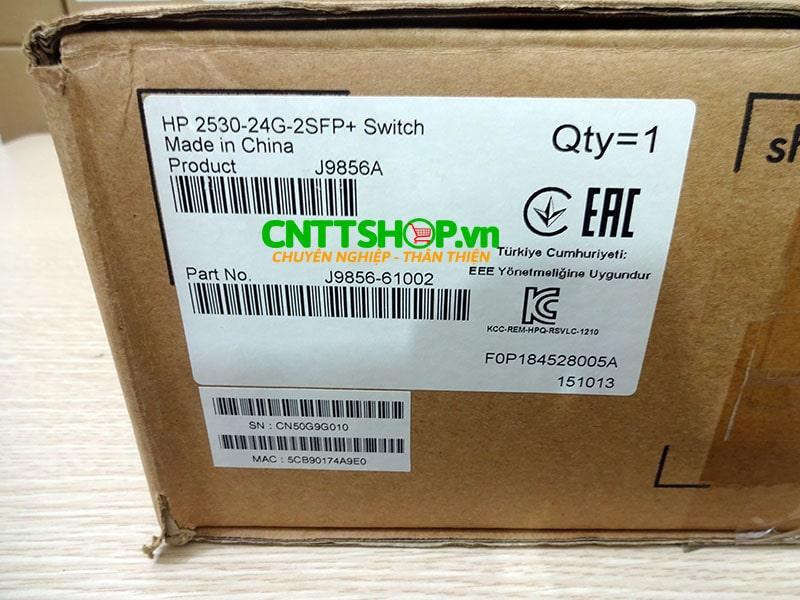 Switch Aruba J9856A 2530 24 port 1G 2SFP+   Image 5