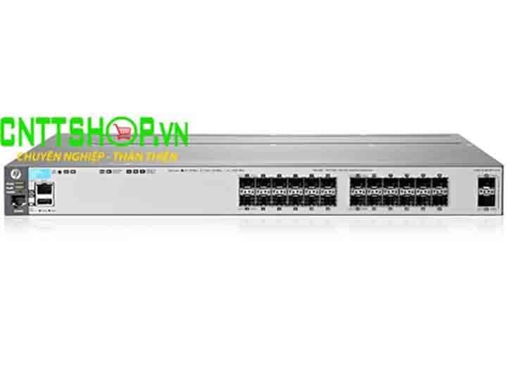 Switch Aruba J9573A 3800 24G PoE+ 2SFP+ | Image 1