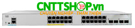 Switch Cisco C1000-24FP-4G-L​ 24 Cổng PoE+ 370W