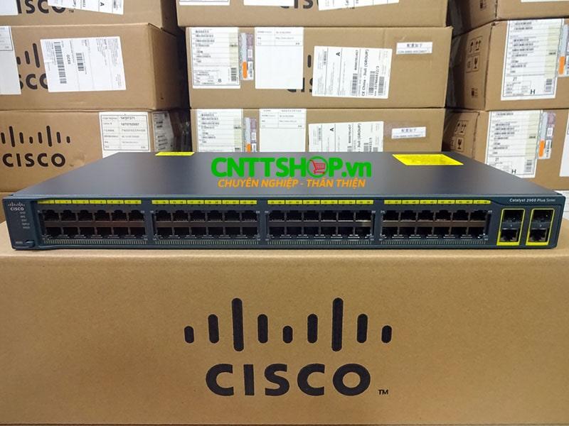 Switch Cisco WS-C2960+48TC-L 48 Ports 10/100 + 2 T/SFP LAN Base | Image 1