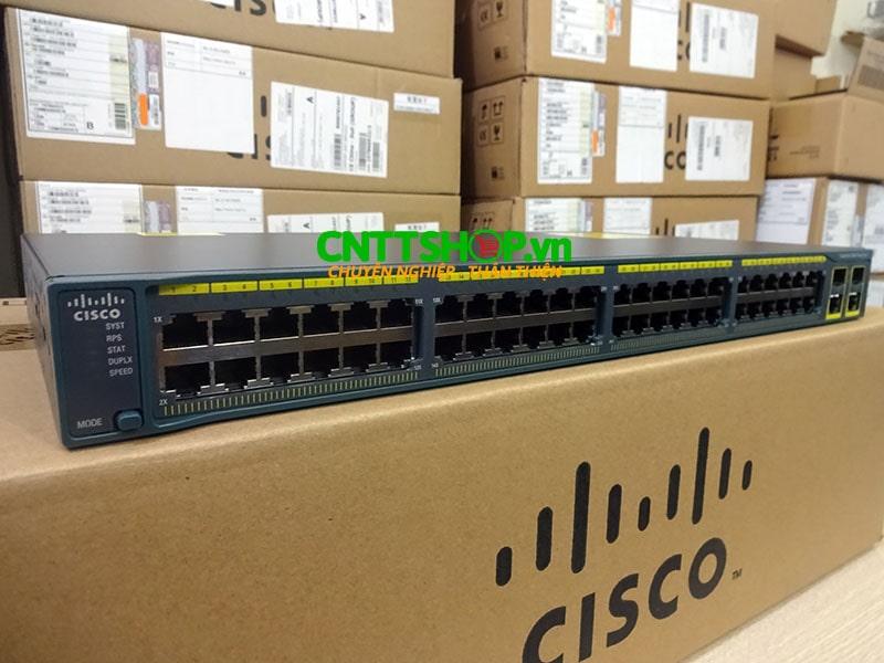 Switch Cisco WS-C2960+48TC-L 48 Ports 10/100 + 2 T/SFP LAN Base | Image 2
