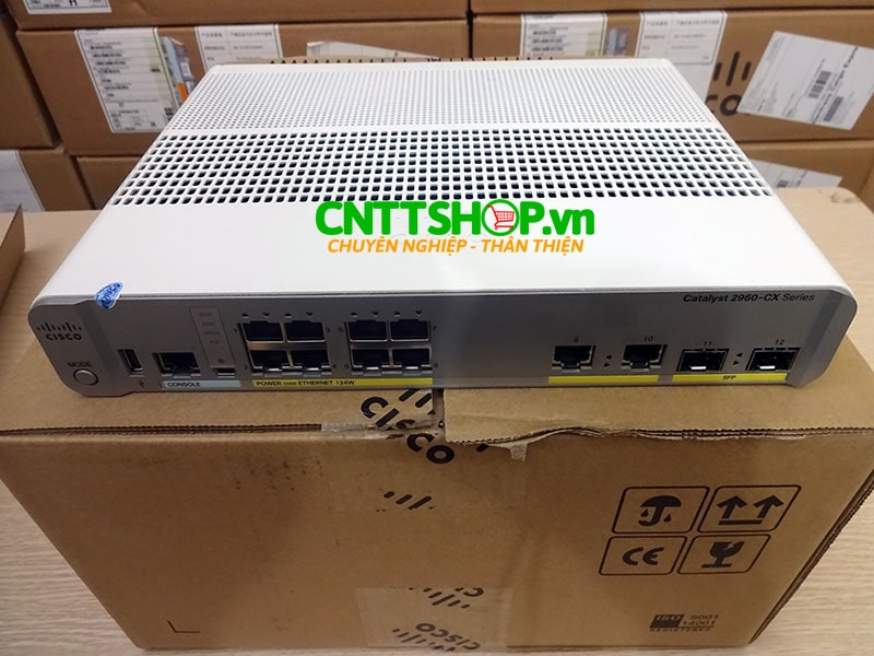 Switch Cisco WS-C2960CX-8PC-L