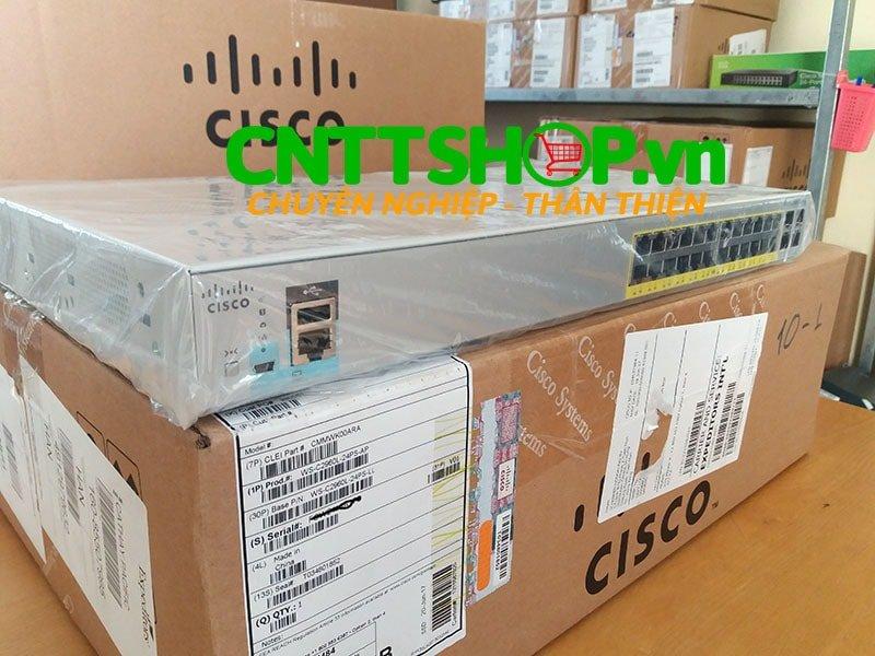 Switch Cisco WS-C2960L-24PS-LL 24 port GigE PoE 4x1G SFP LAN Lite   Image 3