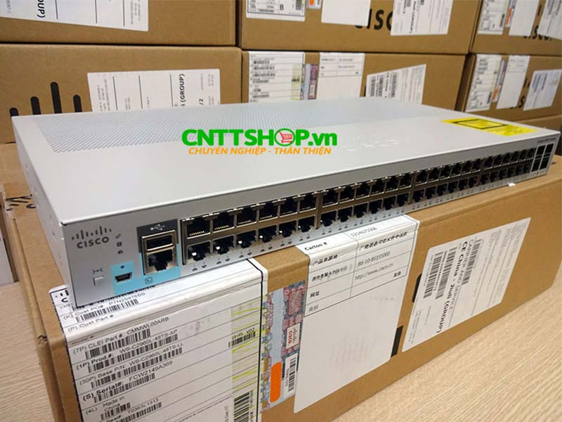 Switch Cisco WS-C2960L-48TS-LL Catalyst 2960L 48 port GigE 4 x 1G SFP LAN Lite