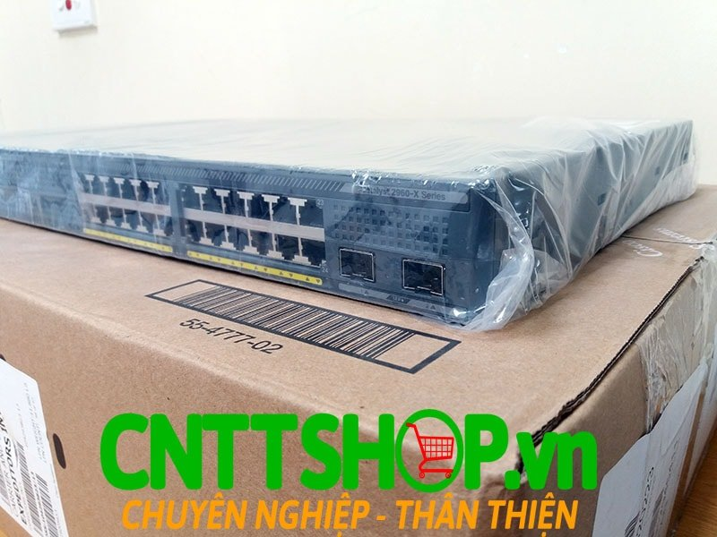 Switch Cisco WS-C2960X-24TD-L Catalyst 2960-X 24 GigE, 2 x 10G SFP+, LAN Base